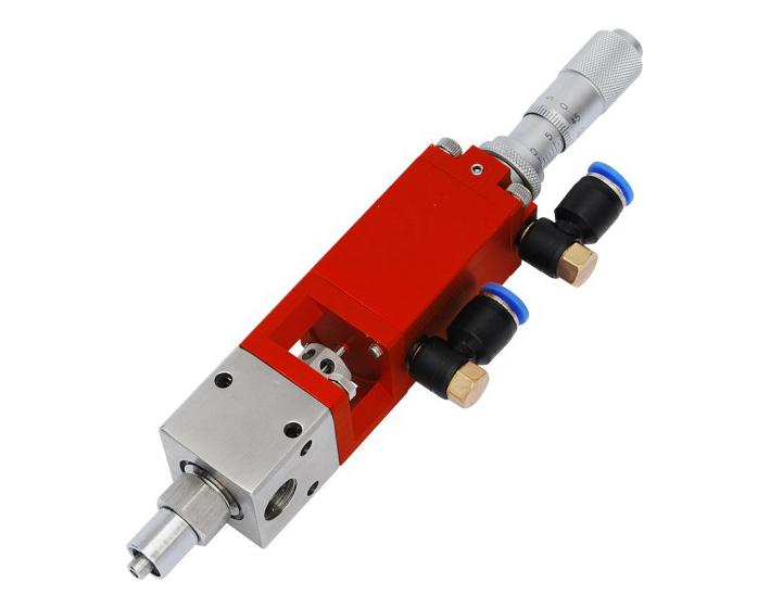 rc1/8气缸本体材质:铝合金流体槽材质:不锈钢活塞及撞针:不锈钢